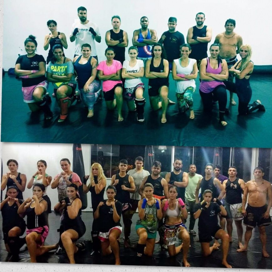 MUAY THAI SALES TEAM ACADEMIA MERGULHO BH BARREIRO