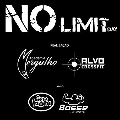 EVENTO NO LIMIT DAY ACADEMIA MERGULHO ALVO CROSSFIT E PARCEIROS