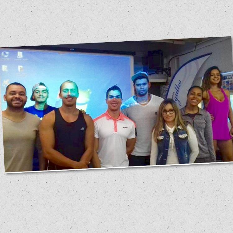 PROFESSORES PALESTRA NUTRIÇÃO ACADEMIA MERGULHO BARREIRO BH 29 MAIO 2017