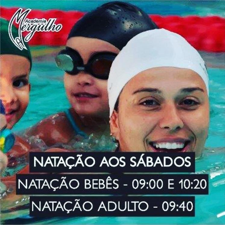 AULA NATAÇÃO BEBES ADULTO AOS SABADOS ACADEMMIA MERGULHO BARREIRO BH BARREIRO DE CIMA BAIXO NOVEMBRO 2017