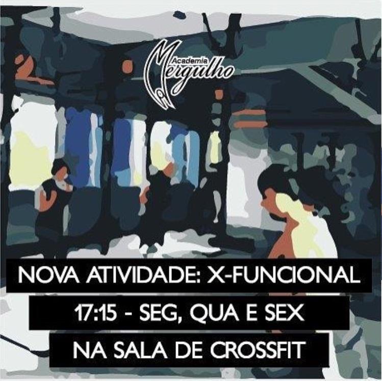 NOVO HORARIO AULA X FUNCIONAL ACADEMIA MERGULHO BH BARREIRO 2018 ABRIL