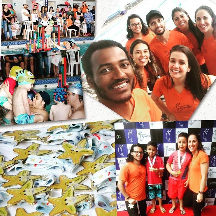 FESTIVAL INTERNO DA NATACAO ACADEMIA MERGULHO BH BARREIRO JULHO 2018