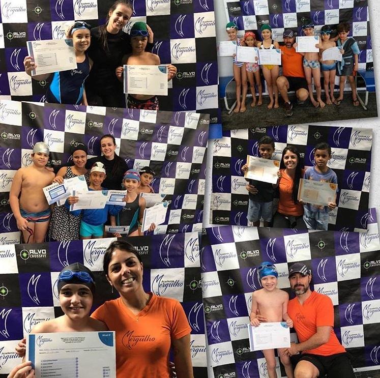 FESTIVAL INTERNO NATAÇÃO INFANTIL ACADEMIA MERGULHO BH BARREIRO JULHO 2018
