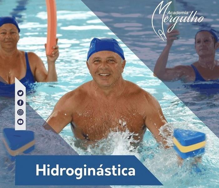 HIDROGINÁSTICA HIDRO ACADEMIA MERGULHO BH BARREIRO MG AGOSTO 2019