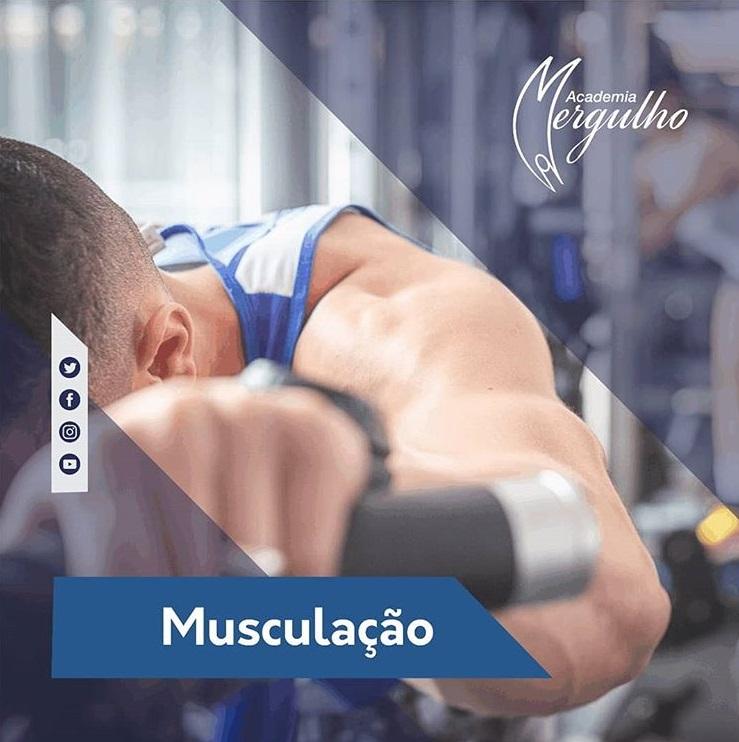 MUSCULAÇÃO É NA MERGULHO ACADEMIA MERGULHO BARREIRO BH MG TREINO EXERCÍCIO FÍSICO AGOSTO 2019