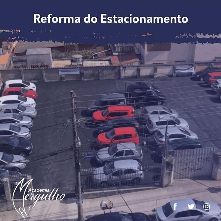 ESTACIONAMENTO ACADEMIA MERGULHO BARREIRO BH REFORMA