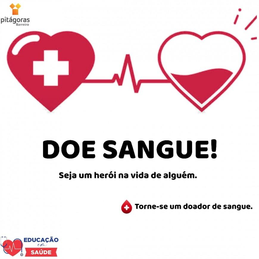 DOE SANGUE PITAGORAS ACADEMIA MERGULHO BH